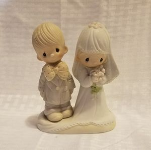 Precious Moments Bride and Groom Figurine